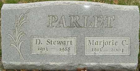 PARLET, D STEWART - Franklin County, Ohio | D STEWART PARLET - Ohio Gravestone Photos