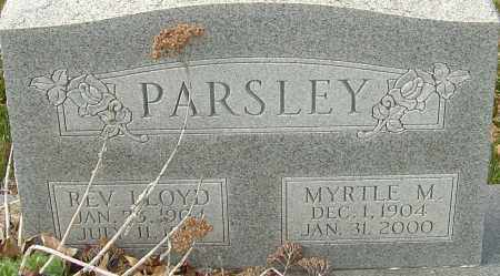 PARSLEY, MYRTLE - Franklin County, Ohio | MYRTLE PARSLEY - Ohio Gravestone Photos
