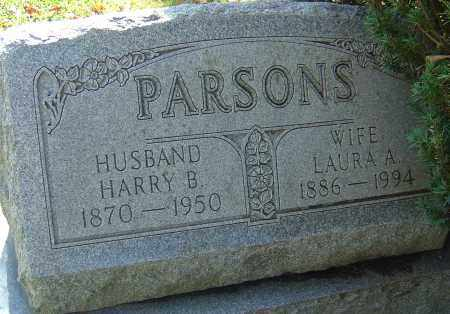 PARSONS, HARRY B - Franklin County, Ohio | HARRY B PARSONS - Ohio Gravestone Photos