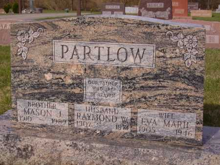 PARTLOW, MASON J. - Franklin County, Ohio | MASON J. PARTLOW - Ohio Gravestone Photos