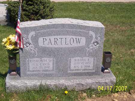 PARTLOW, NAIDA E - Franklin County, Ohio | NAIDA E PARTLOW - Ohio Gravestone Photos