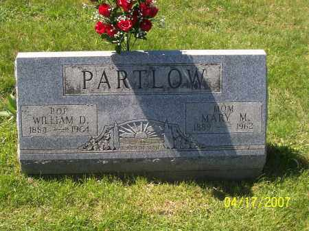 PARTLOW, WILLIAM D - Franklin County, Ohio | WILLIAM D PARTLOW - Ohio Gravestone Photos