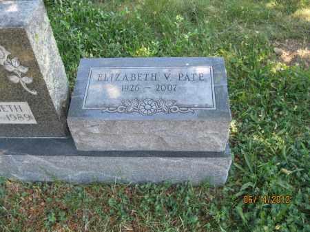 GECZI PATE, ELIZABETH V - Franklin County, Ohio | ELIZABETH V GECZI PATE - Ohio Gravestone Photos