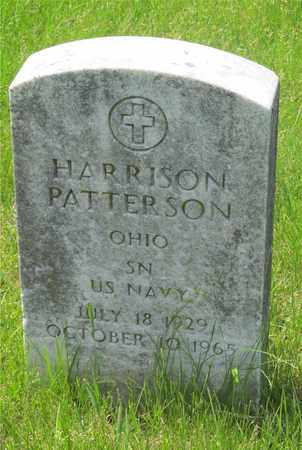 PATTERSON, HARRISON - Franklin County, Ohio | HARRISON PATTERSON - Ohio Gravestone Photos