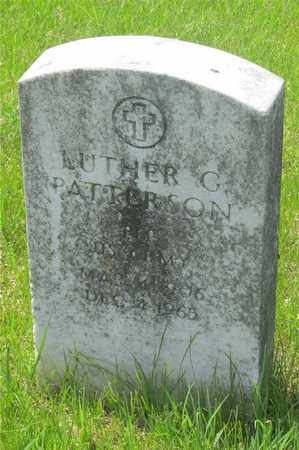 PATTERSON, LUTHER C. - Franklin County, Ohio | LUTHER C. PATTERSON - Ohio Gravestone Photos