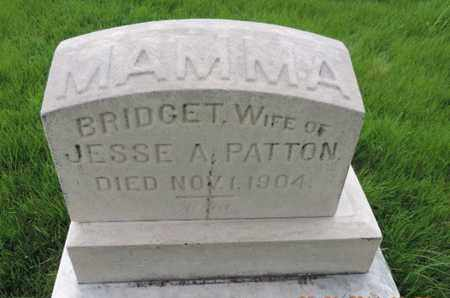 PATTON, BRIDGET - Franklin County, Ohio | BRIDGET PATTON - Ohio Gravestone Photos