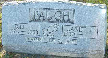 PAUGH, BILL L - Franklin County, Ohio | BILL L PAUGH - Ohio Gravestone Photos