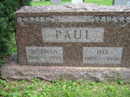 PAUL, NORMAN - Franklin County, Ohio | NORMAN PAUL - Ohio Gravestone Photos
