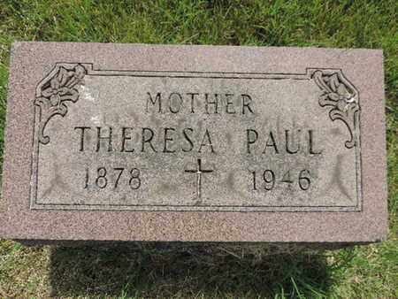 PAUL, THERESA - Franklin County, Ohio | THERESA PAUL - Ohio Gravestone Photos