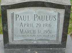 PAULUS, PAUL - Franklin County, Ohio | PAUL PAULUS - Ohio Gravestone Photos