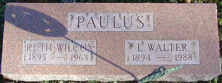 WILCOX PAULUS, RUTH - Franklin County, Ohio | RUTH WILCOX PAULUS - Ohio Gravestone Photos