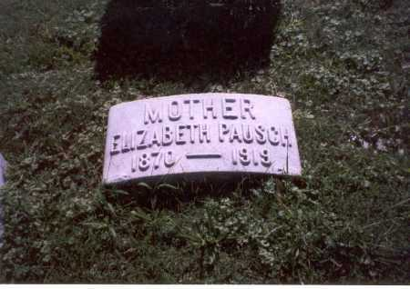 PAUSCH, ELIZABETH - Franklin County, Ohio | ELIZABETH PAUSCH - Ohio Gravestone Photos