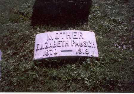 PAUSCH, ELIZABETH - Franklin County, Ohio | ELIZABETH PAUSCH - Ohio Gravestone Photos