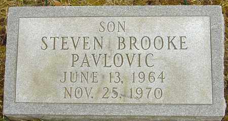 PAVLOVIC, STEVEN BROOKE - Franklin County, Ohio | STEVEN BROOKE PAVLOVIC - Ohio Gravestone Photos