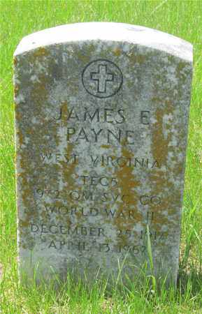 PAYNE, JAMES E. - Franklin County, Ohio | JAMES E. PAYNE - Ohio Gravestone Photos