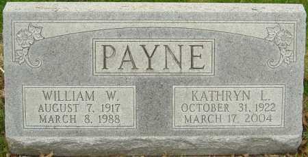 PAYNE, WILLIAM W - Franklin County, Ohio | WILLIAM W PAYNE - Ohio Gravestone Photos