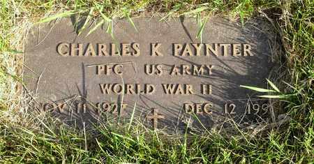 PAYNTER, CHARLES K. - Franklin County, Ohio | CHARLES K. PAYNTER - Ohio Gravestone Photos