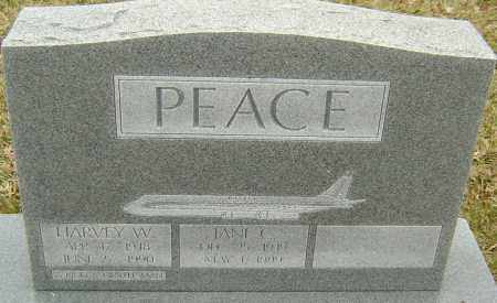 PEACE, JANE C - Franklin County, Ohio | JANE C PEACE - Ohio Gravestone Photos