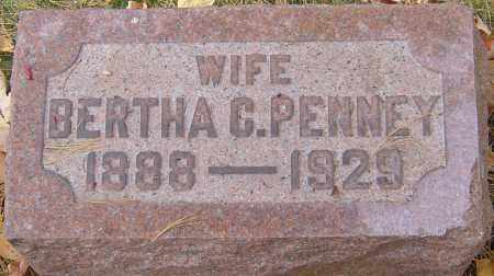 PENNEY, BERTHA - Franklin County, Ohio | BERTHA PENNEY - Ohio Gravestone Photos