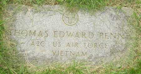 PENNY, THOMAS EDWARD - Franklin County, Ohio | THOMAS EDWARD PENNY - Ohio Gravestone Photos