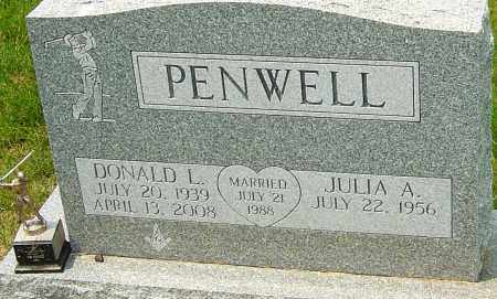 PENWELL, DONALD L - Franklin County, Ohio | DONALD L PENWELL - Ohio Gravestone Photos