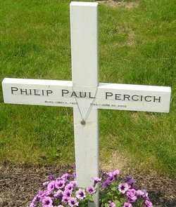 PERCICH, PHILIP PAUL - Franklin County, Ohio   PHILIP PAUL PERCICH - Ohio Gravestone Photos