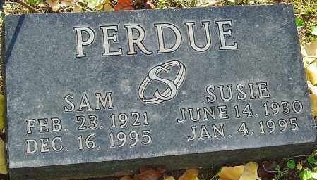 PERDUE, SUSIE - Franklin County, Ohio | SUSIE PERDUE - Ohio Gravestone Photos