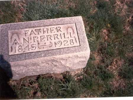 PERRILL, A. N. - Franklin County, Ohio | A. N. PERRILL - Ohio Gravestone Photos