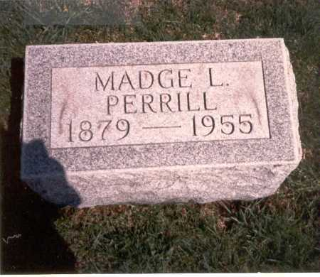 PERRILL, MADGE L. - Franklin County, Ohio | MADGE L. PERRILL - Ohio Gravestone Photos