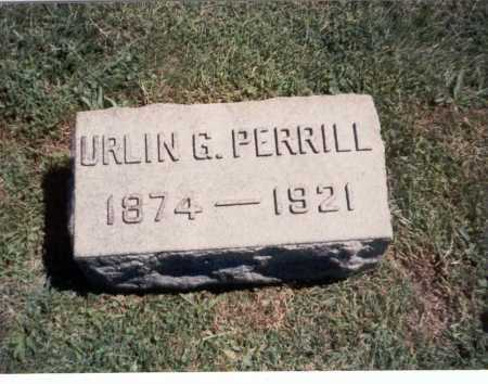 PERRILL, URLIN G. - Franklin County, Ohio | URLIN G. PERRILL - Ohio Gravestone Photos