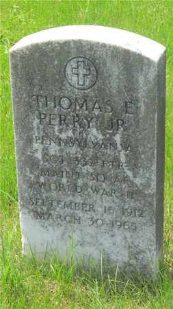 PERRY, THOMAS E. - Franklin County, Ohio | THOMAS E. PERRY - Ohio Gravestone Photos