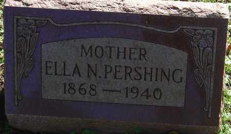 PERSHING, ELLA N - Franklin County, Ohio | ELLA N PERSHING - Ohio Gravestone Photos