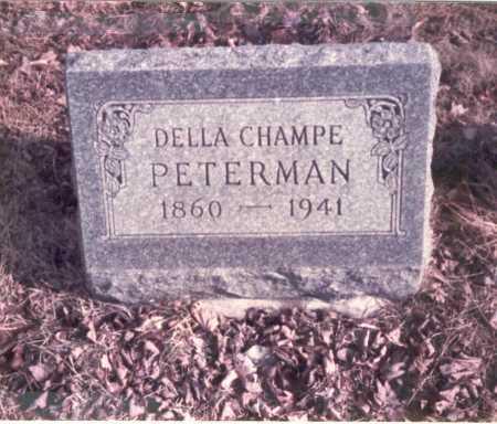 PETERMAN, DELLA - Franklin County, Ohio | DELLA PETERMAN - Ohio Gravestone Photos