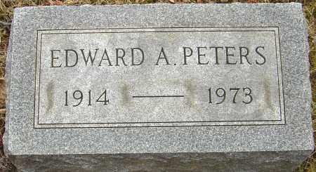 PETERS, EDWARD A - Franklin County, Ohio | EDWARD A PETERS - Ohio Gravestone Photos