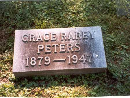 PETERS, GRACE RAREY - Franklin County, Ohio | GRACE RAREY PETERS - Ohio Gravestone Photos