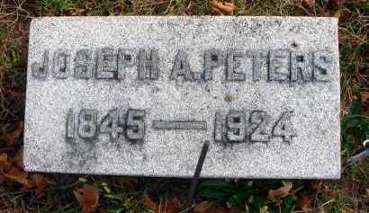 PETERS, JOSEPH A. - Franklin County, Ohio | JOSEPH A. PETERS - Ohio Gravestone Photos