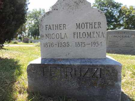 PETRUZZI, NICOLA - Franklin County, Ohio | NICOLA PETRUZZI - Ohio Gravestone Photos