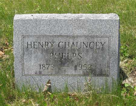PHELPS, HENRY CHAUNCEY - Franklin County, Ohio | HENRY CHAUNCEY PHELPS - Ohio Gravestone Photos
