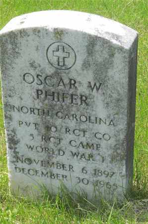 PHIFER, OSCAR W. - Franklin County, Ohio | OSCAR W. PHIFER - Ohio Gravestone Photos