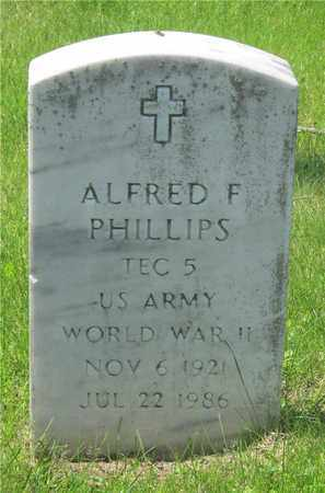 PHILLIPS, ALFRED F. - Franklin County, Ohio | ALFRED F. PHILLIPS - Ohio Gravestone Photos