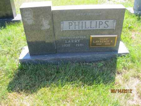 "PHILLIPS, LAWRENCE ""SHAM"" RAYMOND - Franklin County, Ohio 