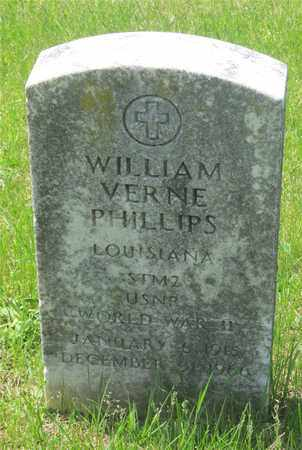 PHILLIPS, WILLIAM VERNE - Franklin County, Ohio | WILLIAM VERNE PHILLIPS - Ohio Gravestone Photos