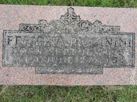 PICCININI, FERMINA - Franklin County, Ohio | FERMINA PICCININI - Ohio Gravestone Photos