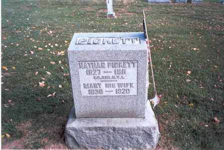 FREEMAN PICKETT, MARY - Franklin County, Ohio | MARY FREEMAN PICKETT - Ohio Gravestone Photos
