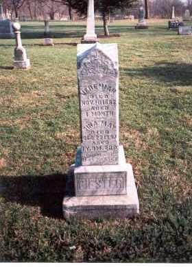 PIESTER, SINA MAY - Franklin County, Ohio | SINA MAY PIESTER - Ohio Gravestone Photos