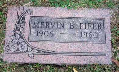 PIFER, MERVIN B. - Franklin County, Ohio | MERVIN B. PIFER - Ohio Gravestone Photos