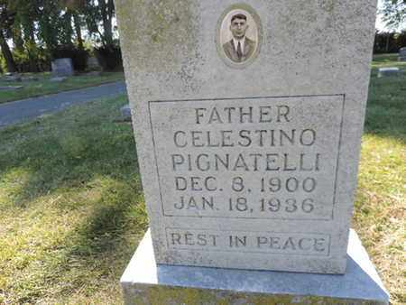 PIGNATELLI, CELESTINO - Franklin County, Ohio | CELESTINO PIGNATELLI - Ohio Gravestone Photos