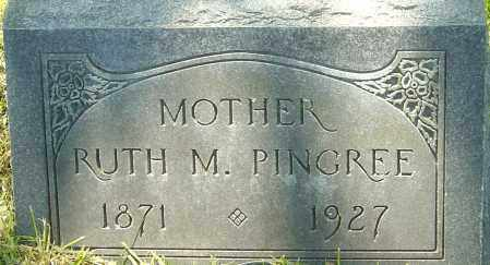 PINGREE, RUTH M - Franklin County, Ohio   RUTH M PINGREE - Ohio Gravestone Photos