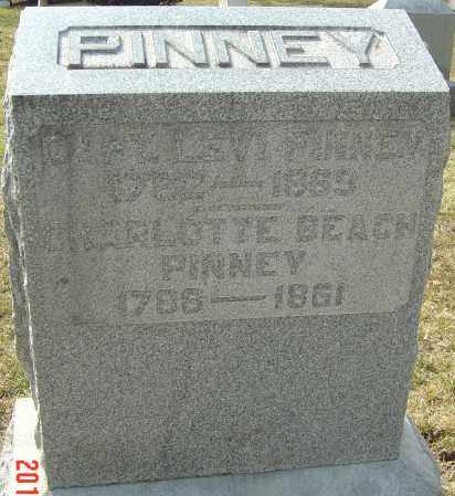 BEACH PINNEY, CHARLOTTE - Franklin County, Ohio | CHARLOTTE BEACH PINNEY - Ohio Gravestone Photos