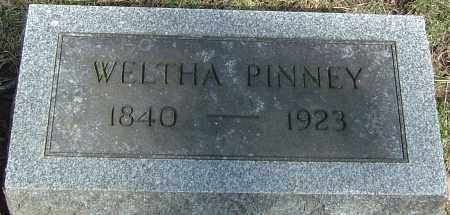 PINNEY, WELTHA - Franklin County, Ohio | WELTHA PINNEY - Ohio Gravestone Photos